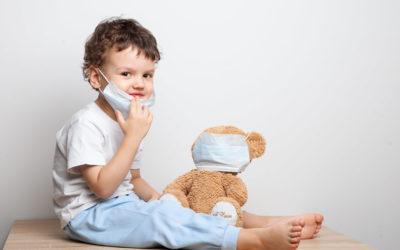 Hat eigentlich schon einer mal an Kindermasken gedacht?